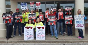 Dsa Stands With Cwa At T Strike Dsa Cleveland